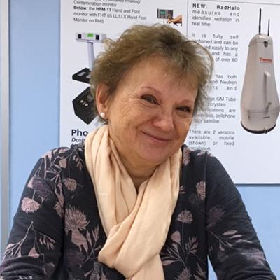 Carolyn England, Phoenix Dosimetry Ltd