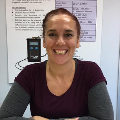 Emma Dell, Phoenix Dosimetry Ltd