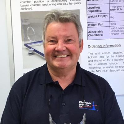 Ken Bosley, Phoenix Dosimetry Ltd